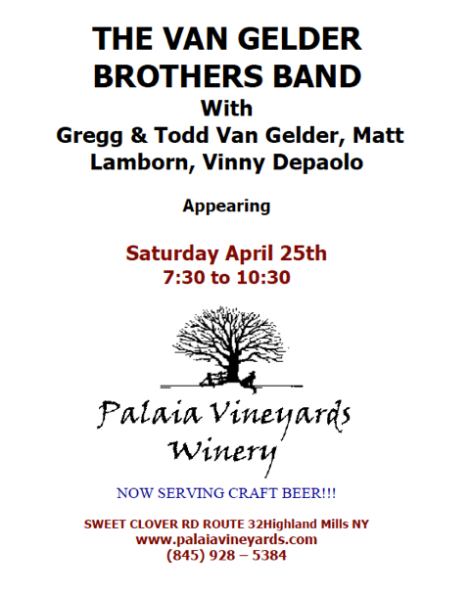 Van Gelder Bros Band