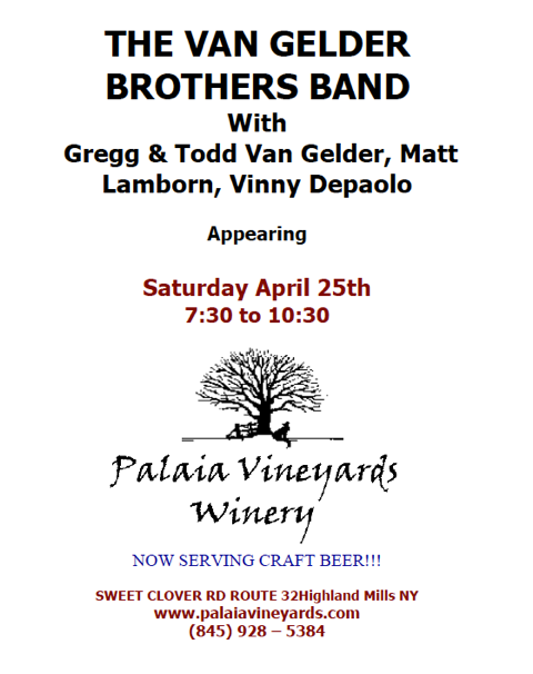 Van Gelder Bros Band